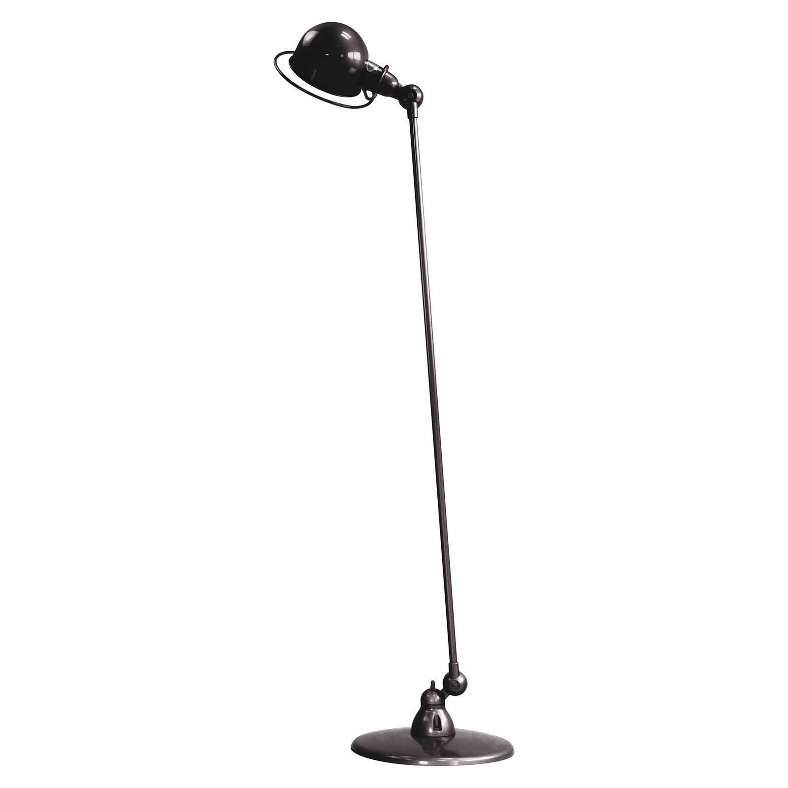 Jieldé Loft D1200 gulvlampe justerbar, svart