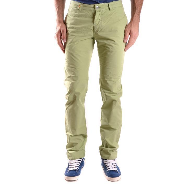 Daniele Alessandrini Men's Trouser Green 186758 - green 30