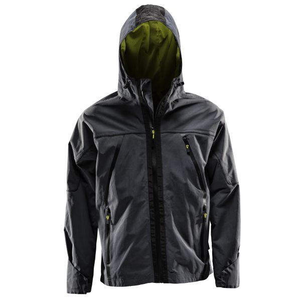 Monitor Shell Jacket Vindjakke antrasittgrå Str. XS