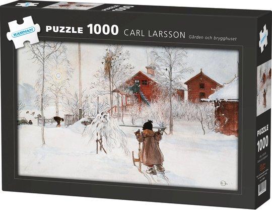Kärnan Puslespill Carl Larsson, Gården og Bryggehuset 1000 Biter