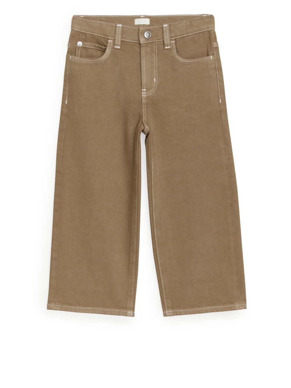 Wide Jeans - Beige
