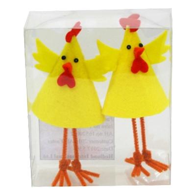 Kycklingar Stående Dekoration - 2-pack