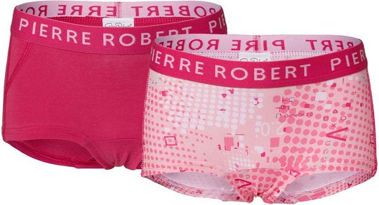 Pierre Robert Young Hipster 2-pack, Pink, 146-152