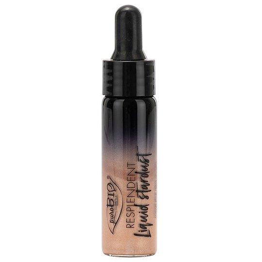 puroBIO Cosmetics Resplendent Liquid Stardust - 01 Champagne, 12 ml