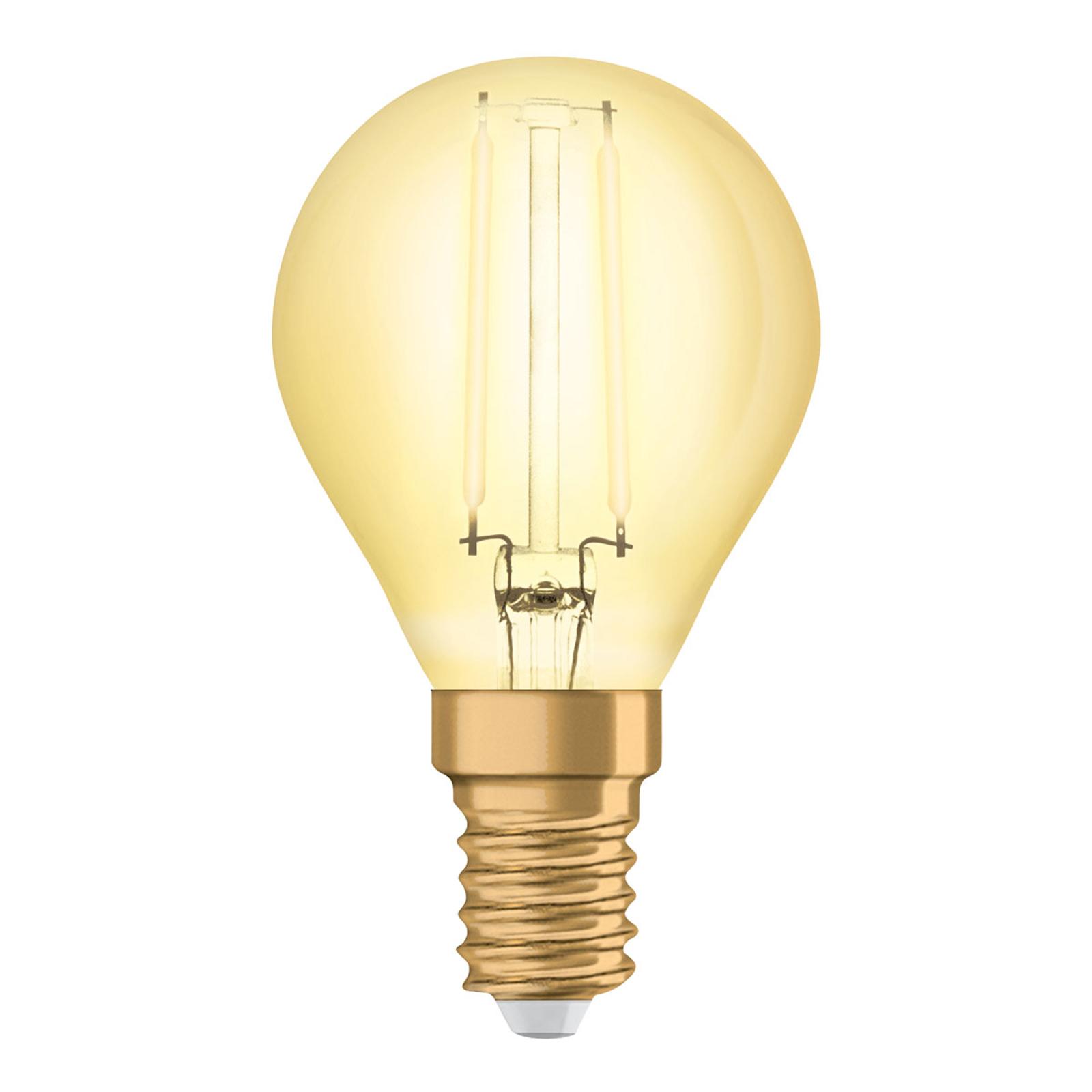 OSRAM-LED-pisara E14 4W Vintage Classic P gold