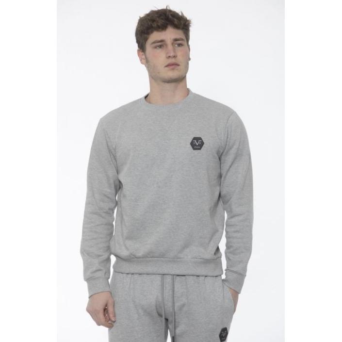 19v69 Italia Men's Sweatshirt Grey 187450 - grey M