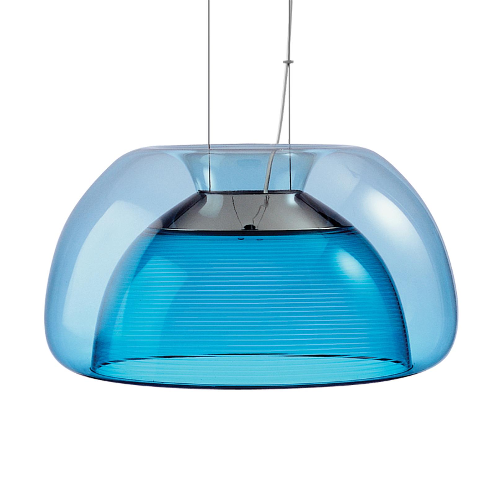 Värikäs Aurelia-LED-riippuvalaisin, sininen