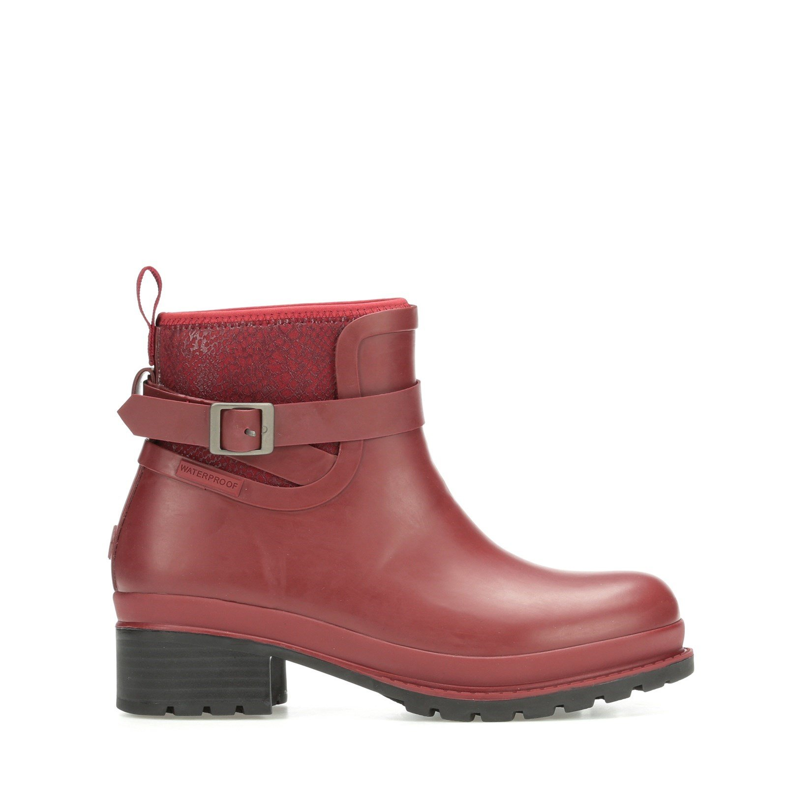 Muck Boots Women's Liberty Rubber Ankle Boots Various Colours 31816 - Cordovan 3