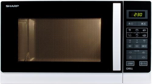 Sharp R-742ww Grill Funktion Mikrovågsugn - Vit