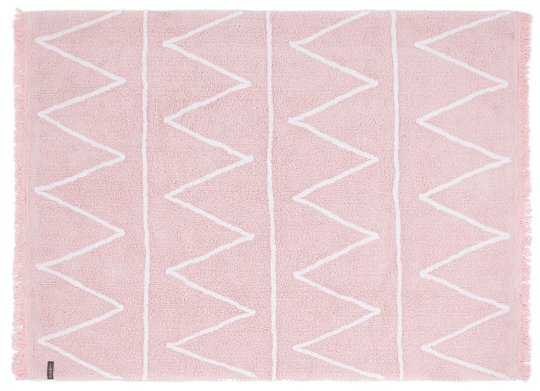 Lorena Canals Teppe Zigzag, Soft Pink
