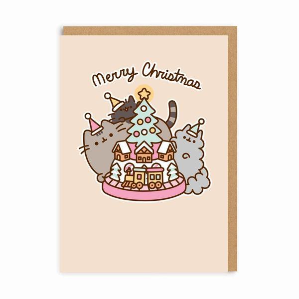 Merry Christmas Model Railway Christmas Card