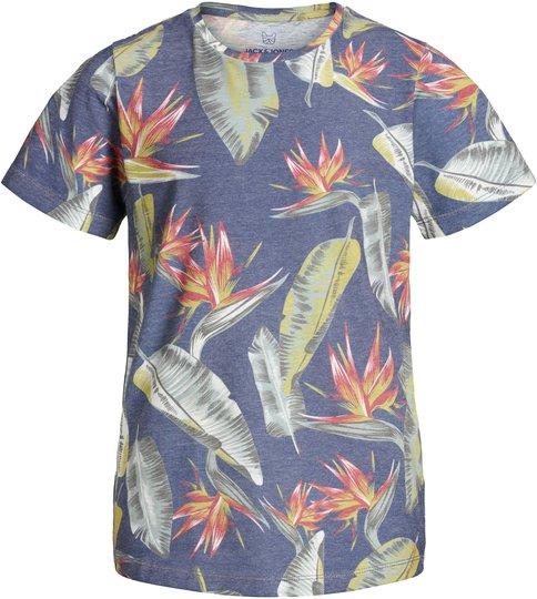 Jack & Jones Vole T-Shirt, Blue Depths 176