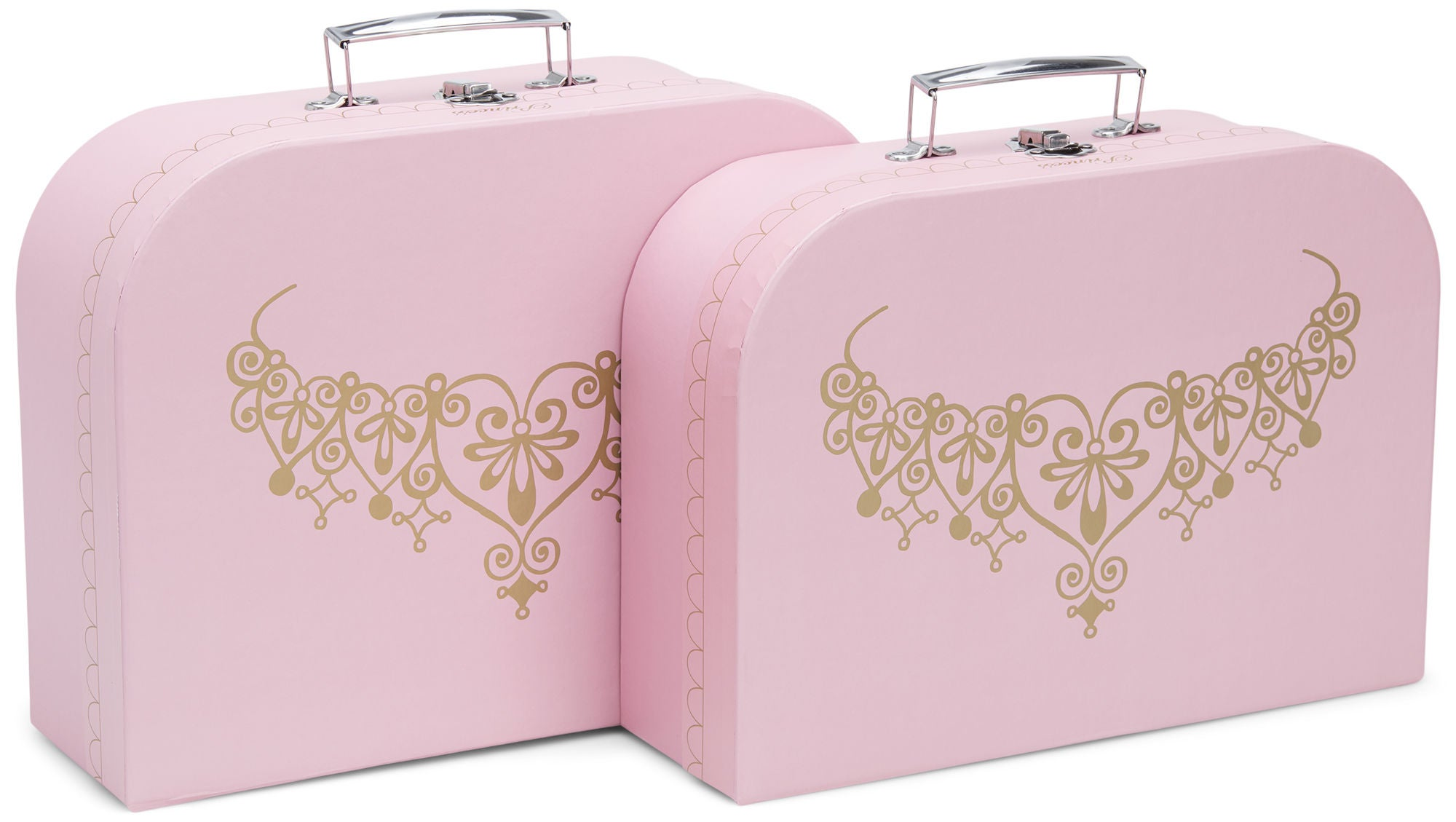 Cloudberry Castle Pahvilaukut 2-pack, Pink
