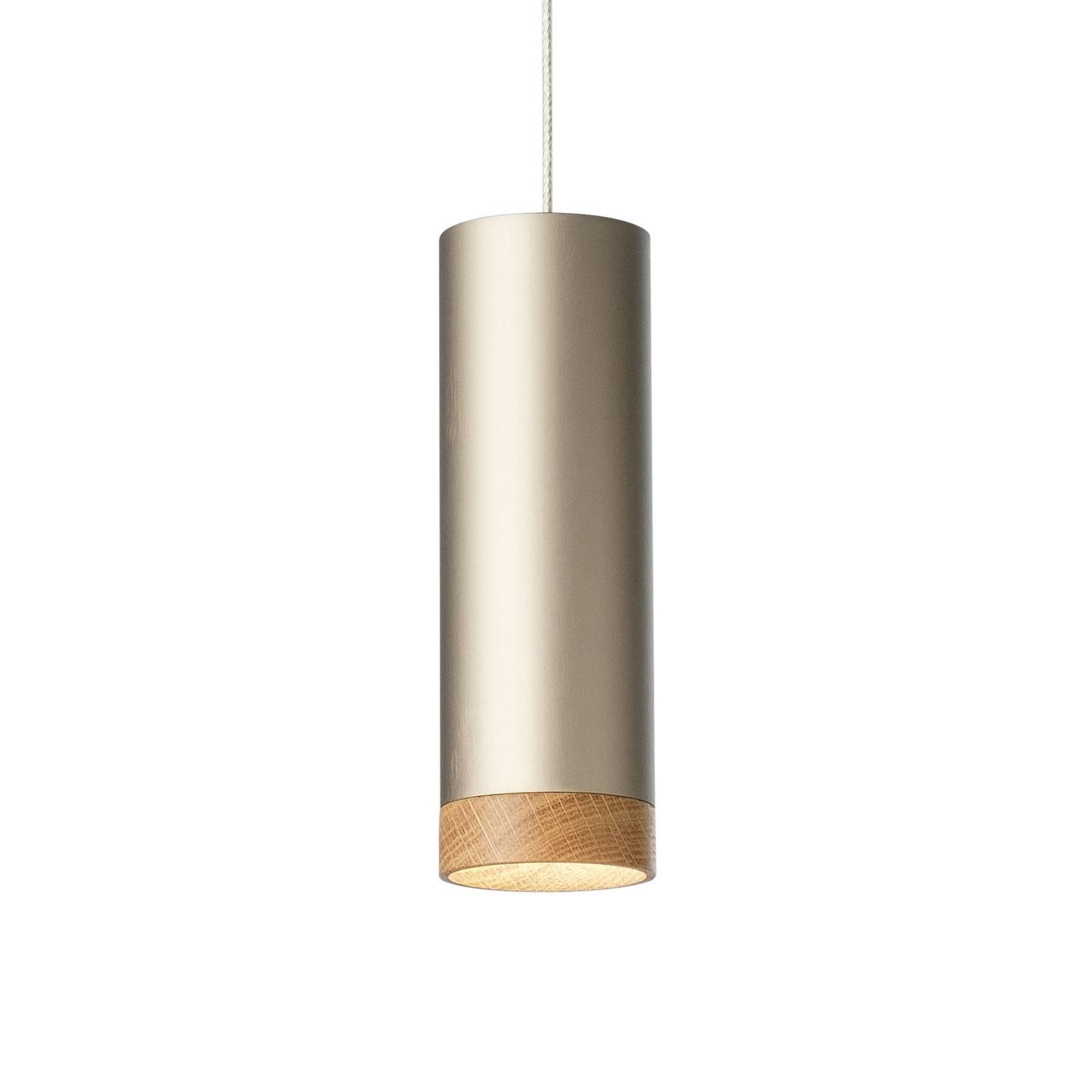 LED-riippuvalaisin PHEB, hopea-pronssi/tammi