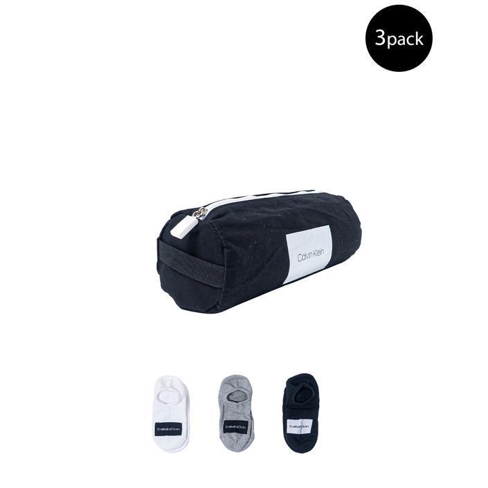 Calvin Klein Men's Socks Grey 183911 - grey UNICA
