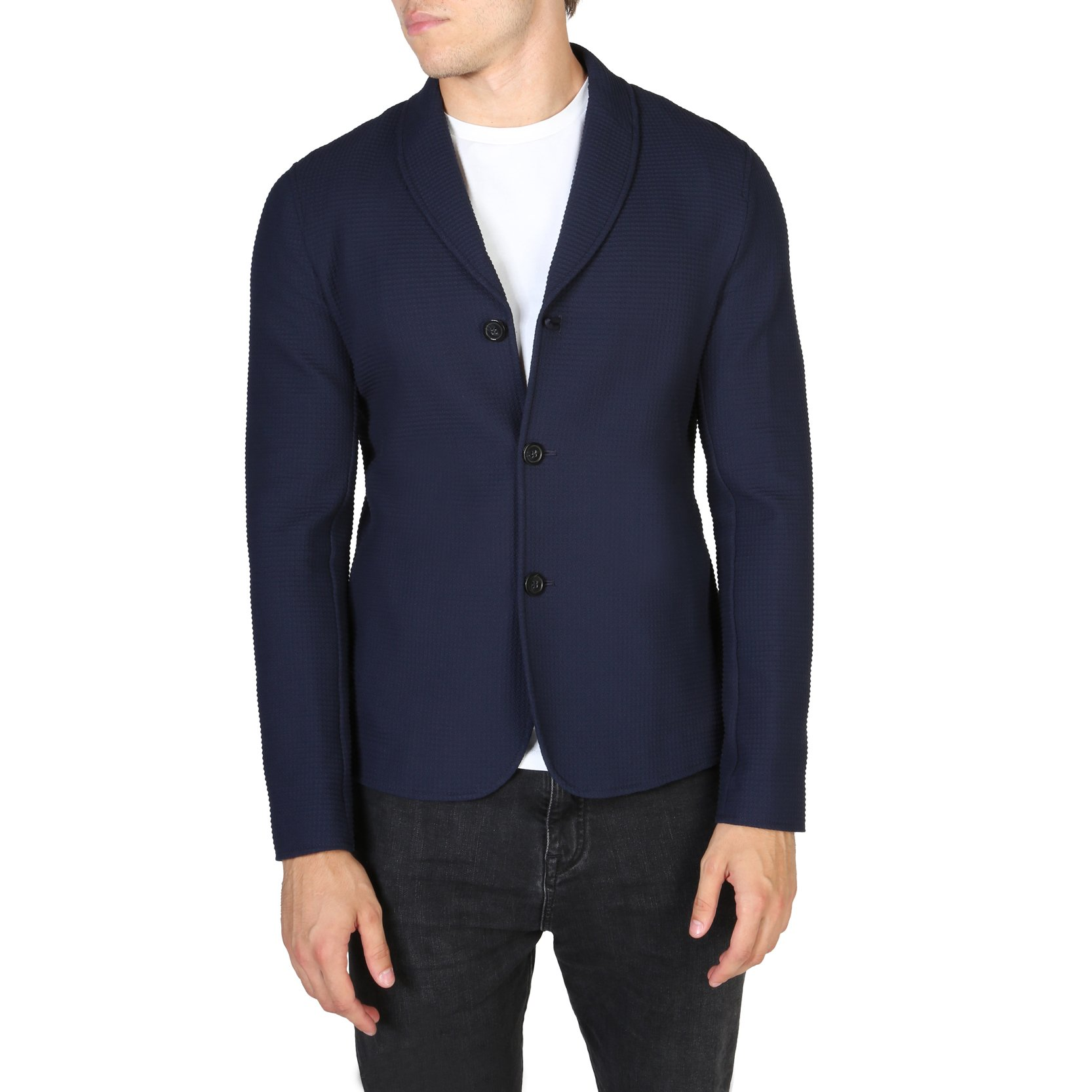 Emporio Armani Men's Blazer Various Colours V1G780V1203 - blue 52