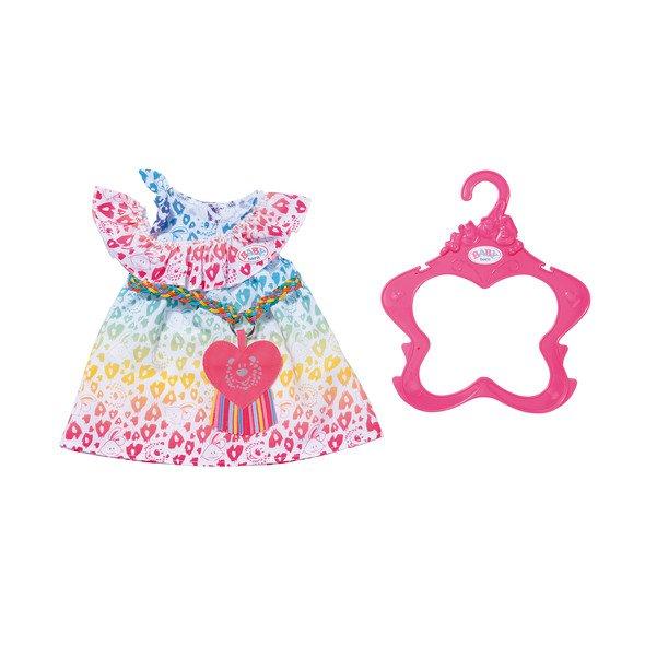 Baby Born - Rainbow Leo Dress 43cm (829219)