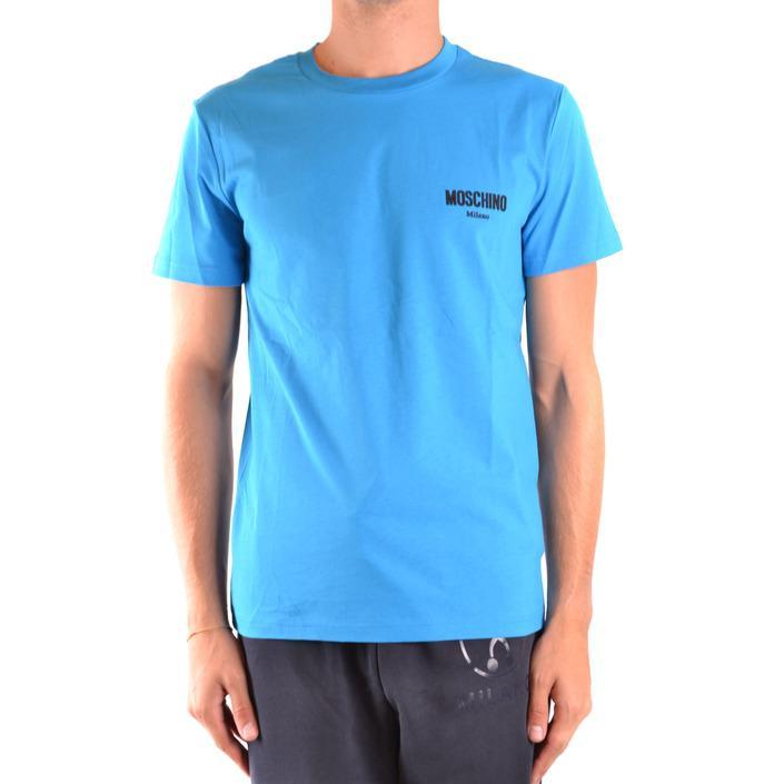 Moschino Men's T-Shirt Blue 169291 - blue 44