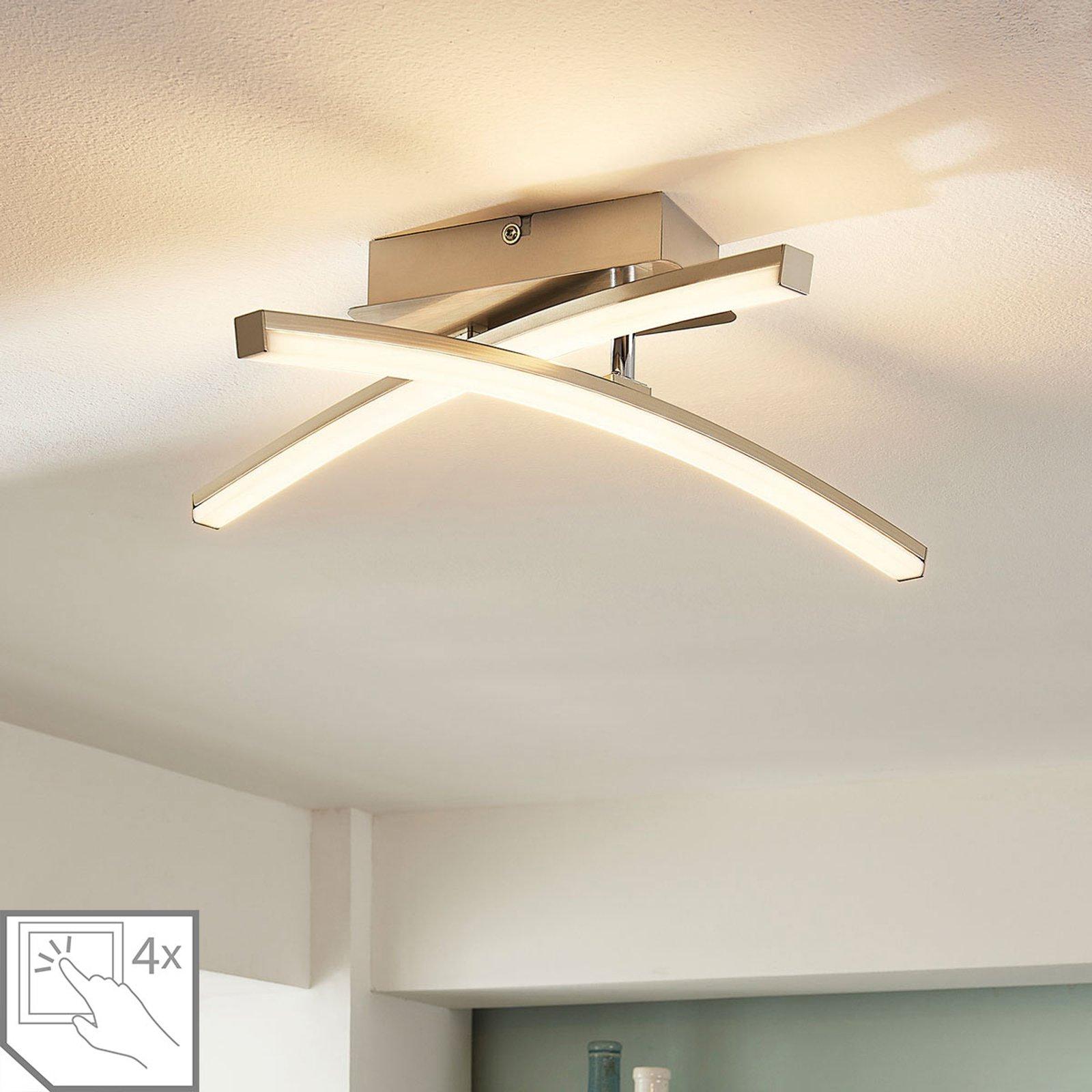 4-trinns dimbar LED-taklampe Laurenzia