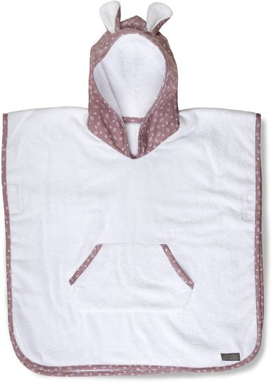 Vinter & Bloom Nordic Hettehåndkle, Soft Pink