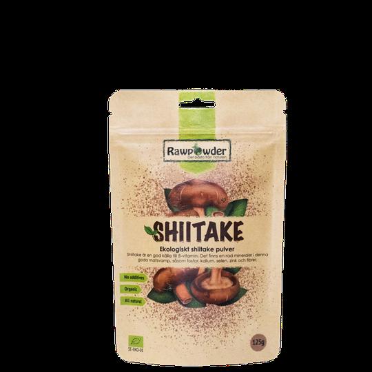 Shiitakepulver, 125 g