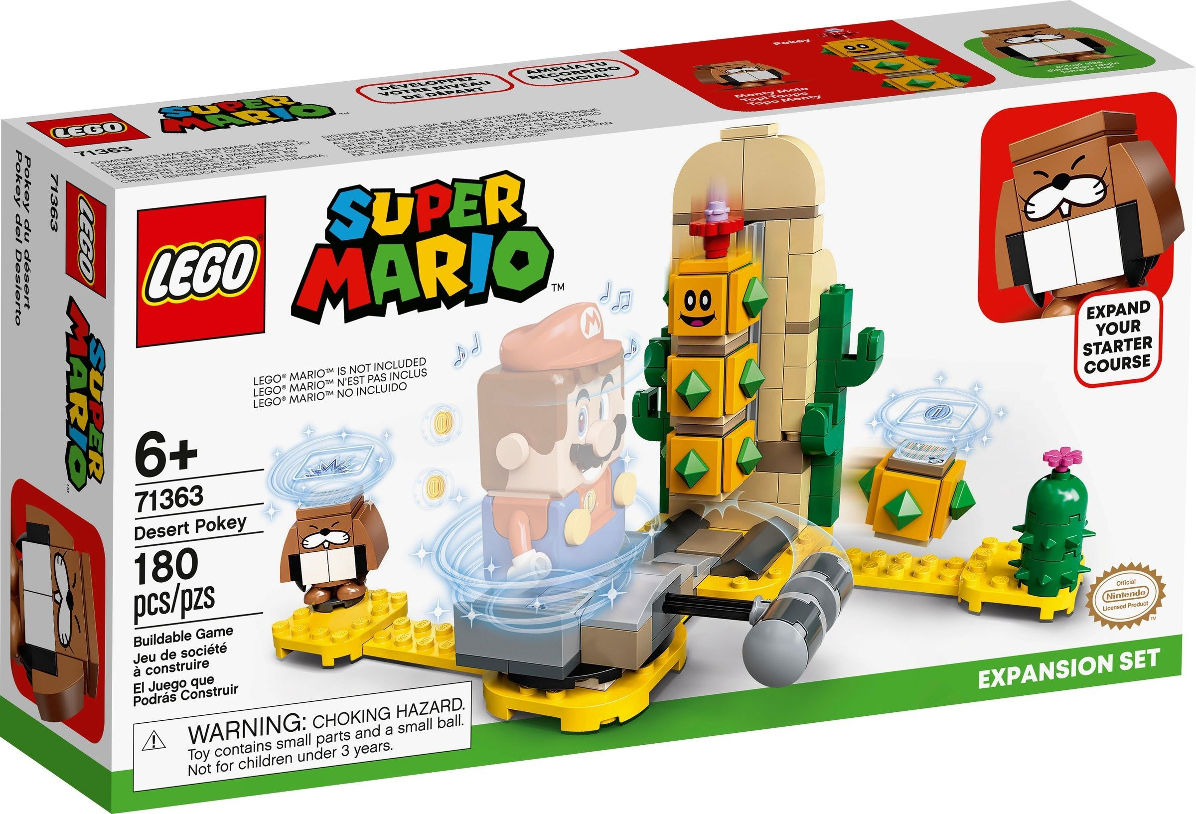 LEGO Super Mario - Desert Pokey Expansion Set (71363)