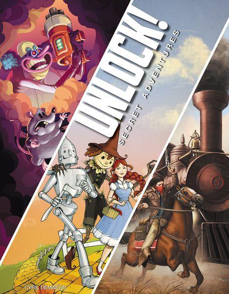 Unlock! 3 - Secret Adventures (English) (AMDUNLOCK03)