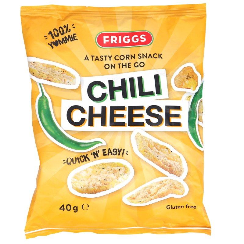 Maissisnacksit Chili & Juusto - 57% alennus