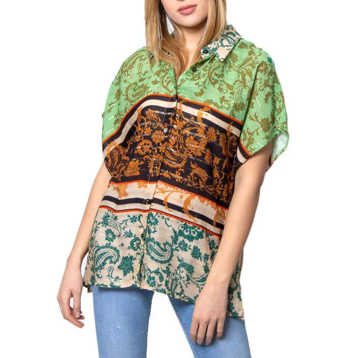 Desigual Women's Shirt Multicolor 171448 - multicolor S