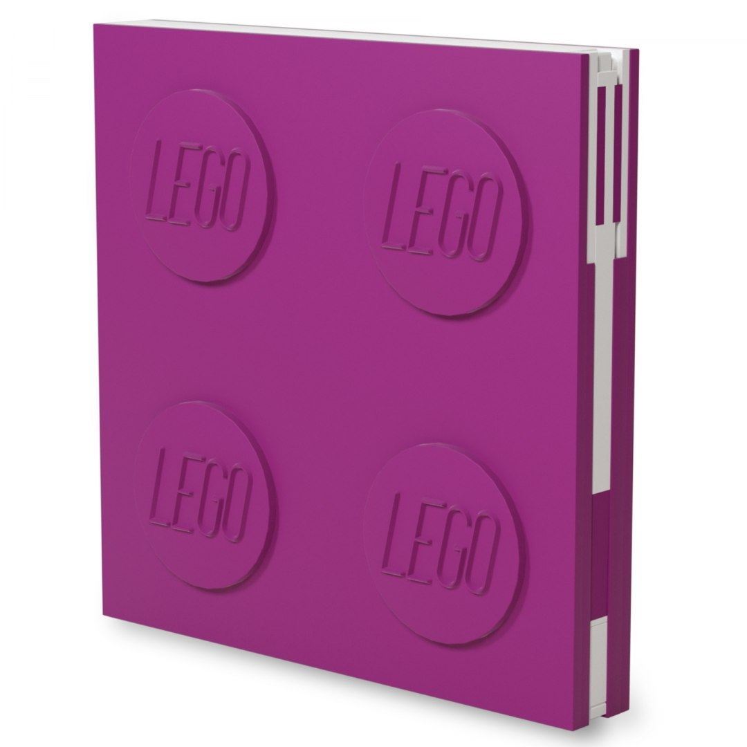 LEGO Stationery - Notebook Deluxe with Pen - Violet (524388)