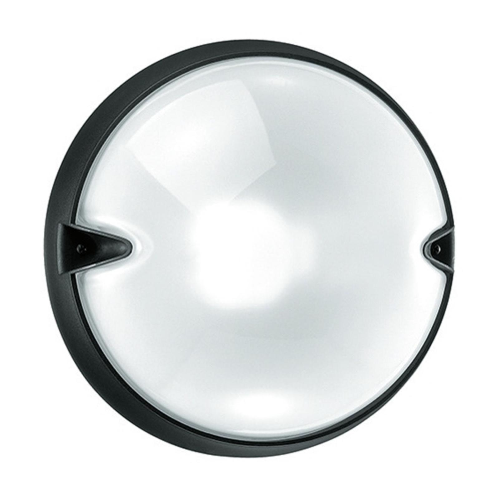 Pyöreä ulkoseinävalaisin CHIP valkoinen