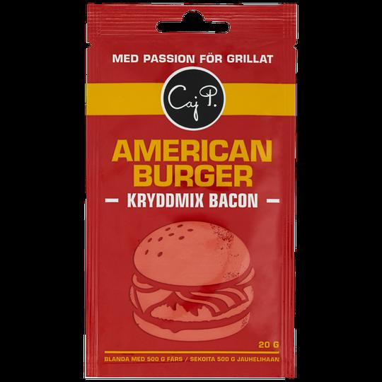 American burger Kryddmix Bacon - 44% rabatt