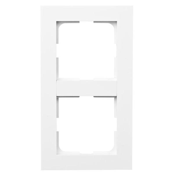 Elko Plus Yhdistelmäkehys valkoinen 2-lokeroinen