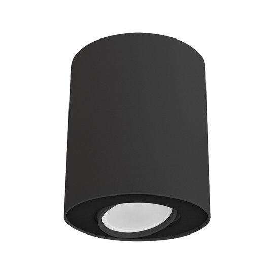 Taklampe Set, dreibar, svart