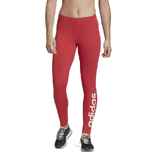 Adidas Essential Linear Tights, Red