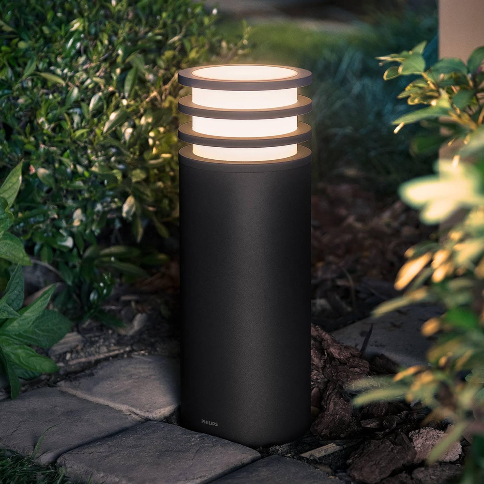 Philips Hue -LED-pollarivalaisin Lucca