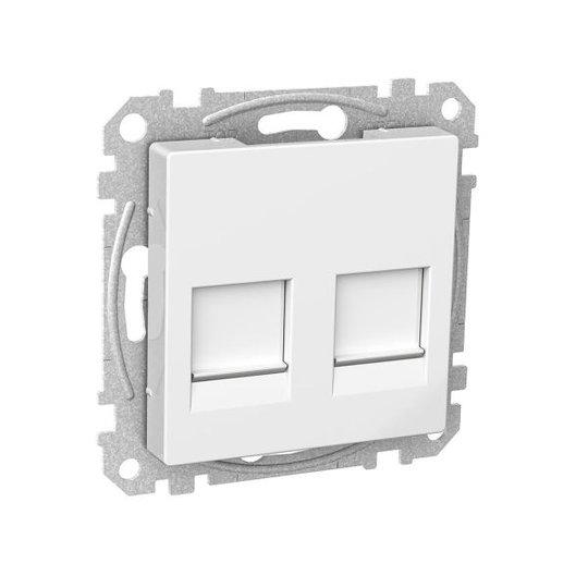 Schneider Electric WDE002377 Keskiölevy 55 x 55 x 24 mm valkoinen