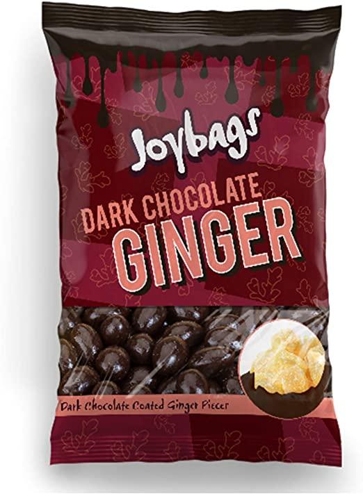 Joybags Dark Chocolate Ginger 150g