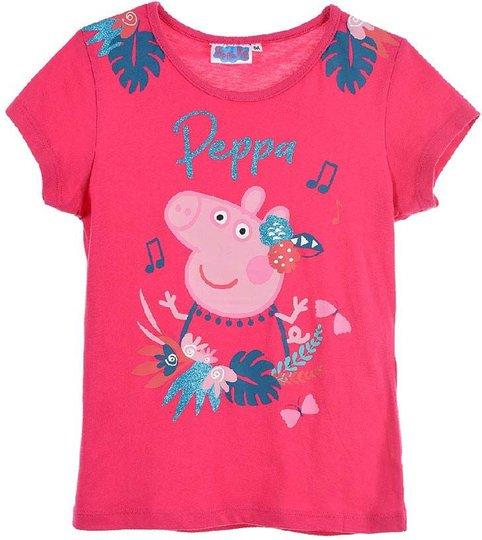 Greta Gris T-Shirt, Fuchsia, 6 År
