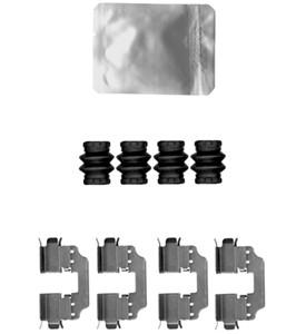 Tarvikesarja, jarrupala, MERCEDES-BENZ A-KLASS [W176], B-KLASS [W246, W242], CLA Coupé [C117], SLK [R172]
