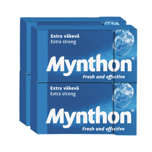 Mynthon Extra Strong 4-pack 140g