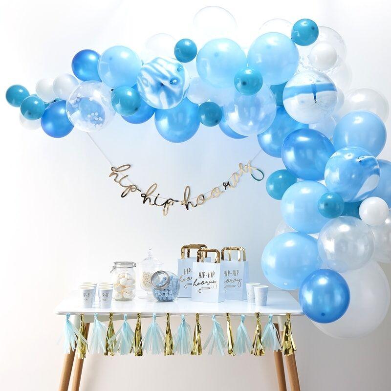 Ballongbåge Blå