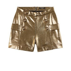 Balmain Shorts Guld 10 år