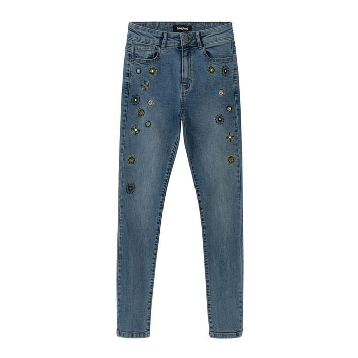 Desigual Women's Jeans Various Colours 204801 - blue w24