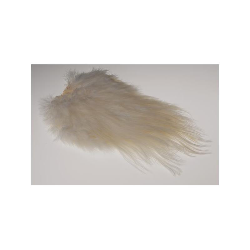 Whiting Spey Saddle - White Bronsegradering