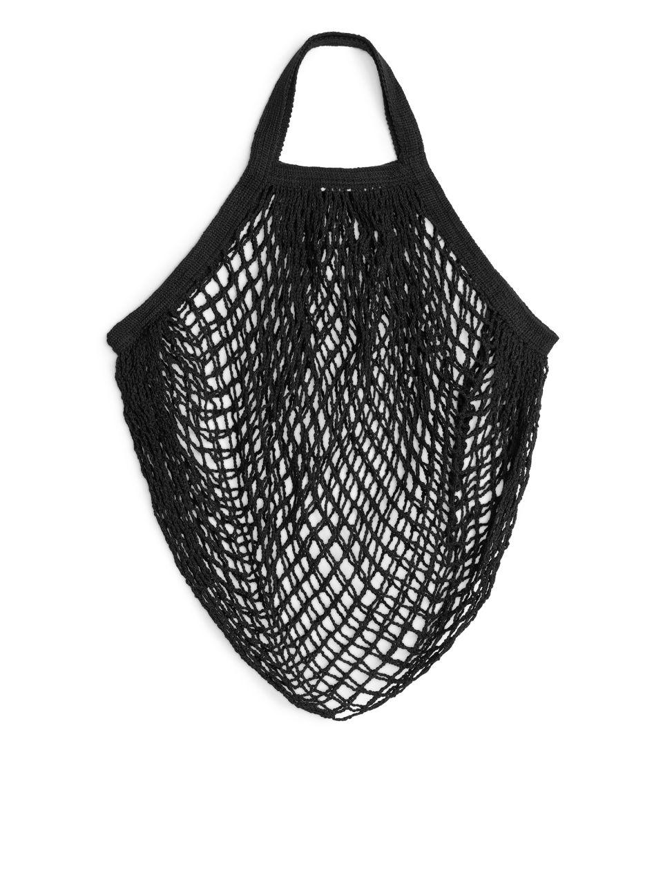 Turtle Bags String Bag - Black