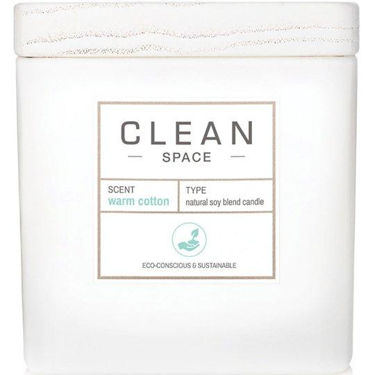 Space Warm Cotton Candle, 227 ml Clean Tuoksukynttilät