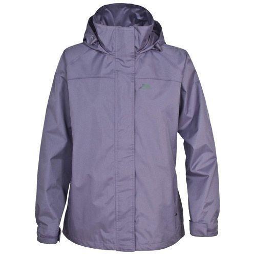 Trespass Kid's Waterproof Jacket Purple Nasu - 2 to 3 Years