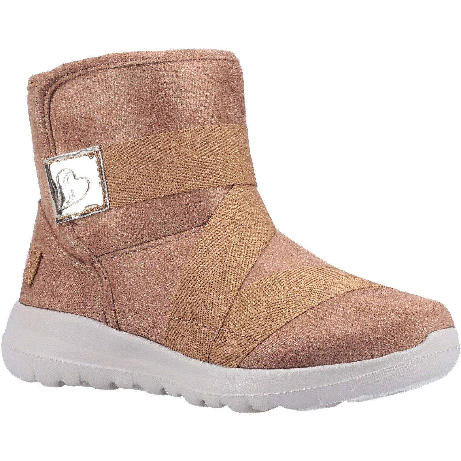 Skechers Unisex Go Walk Joy Strong Willed Ankle Boot Chestnut 31167 - Chestnut 12