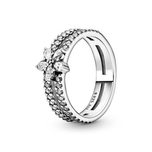 Ring i äkta silver, 18.5